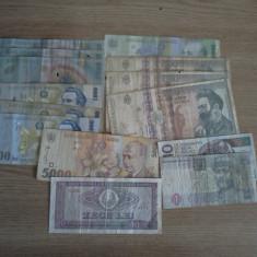 Bancnote romanesti vechi, monede romanesti si straine vechi