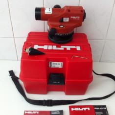 Nivela laser rotativa - HILTI POL 15,, NIVELA OPTICA din 2011 e k noua ''