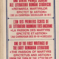 Nestor Vornicescu - Una dintre primele scrieri ale literaturii romane stravechi