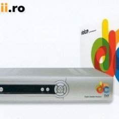 Cartela de acces TV - RECEPTOARE SATELIT DOLCE TV LIBERE