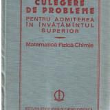 CULEGERE DE PROBLEME MATEMATICA FIZICA CHIMIE - Culegere Matematica