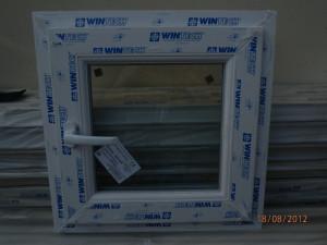 Geam/fereastra termopan pvc baie foto