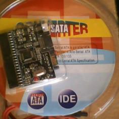 Adaptor interfata PC - Adaptor bi-directional, Sata-IDE; IDE-Sata