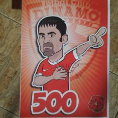 Vand poster A3. Portret Danciulescu 500 cu autograf !!!! Dinamo-Astra 2013
