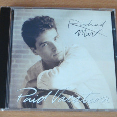 Richard Marx - Paid Vacation - Muzica Rock capitol records