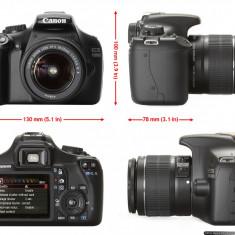 Vand Canon 1100 D - Aparat Foto Canon EOS 1100D, Kit (cu obiectiv)