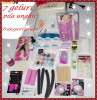 KIT UNGHII FALSE,7 GELURI UV,PILA ELECTRICA, SET MANICHIURA, LAMPA UV 36W, PRIMER, TOPCOAT, CLEANER, REMOVER GEL, CARUSELE FIMO, PILE, etc