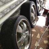 Jante aliaj cu anvelope Toyotyres 225/40 R18, vara, putin rulate - Janta aliaj ATP, Diametru: 18, Numar prezoane: 5