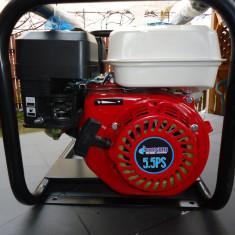 Motopompa pe benzina 5.5 CP debit mare