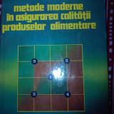 Metode moderne in asigurarea calitatii produselor alimentare Eugen Holban
