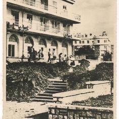 Carte postala(ilustrata) -CONSTANTA-Eforie Club CCS. - Carte Postala Dobrogea dupa 1918, Circulata, Fotografie
