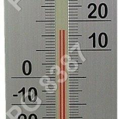 Termometru cu alcool si higrometru analogic, din plastic-0920