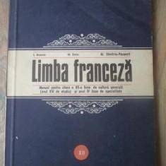Curs limbi straine - I. Braescu, M. Saras, Al. Dimitriu Pausesti - Limba franceza - manual clasa a XII a