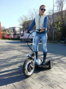 SCOOTER ELECTRIC 3 ROTI, IDEAL PENTRU PLIMBARI IN AER LIBER foto