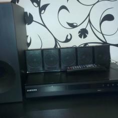 HOME CINEMA SAMSUNG D330 - Sistem Home Cinema Samsung, 301-500 W, Numar canale: 5.1, DVD, Tuner radio: