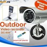 CAMERA CAMERE SUPRAVEGHERE cu inregistrare pe card micro SD. Camera cu DVR