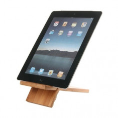 Suport birou bambus Apple iPad - Dock Tableta