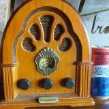 Radio vintage, model vintage Soundmaster, la curent si cu baterii, raritate din Germania, TC room