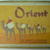 """CUTIE TIGARI """"ORIENT"""" - FABRICA DE TIGARETE BUCURESTI"""