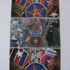 Insigna fotbal - 3 MAGNETI FRIGIDER STEAUA BUCURESTI
