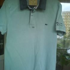 Tricou BERSHKA Polo original nou marimea S M gen calvin klein - Tricou barbati Bershka, Culoare: Din imagine, Maneca scurta, Bumbac