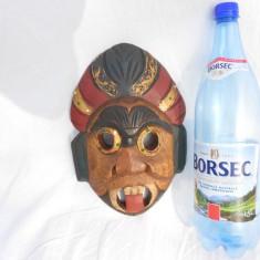 Arta din Africa - FRUMOASA MASCA AFRICANA LEMN CONFECTIONATA MANUAL CADOU
