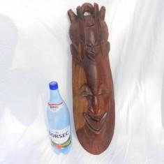 Arta din Africa - MASCA MARE AFRICANA, SCULPTURA LEMN PROVENIENTA GERMANIA