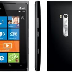 Telefon mobil Nokia Lumia 900, Negru, Neblocat - Nokia lumia 900 cu garantie