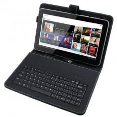 Husa tableta cu tastatura, 10.1 inch - Husa cu tastatura USB MINIUSB MICROUSB pentru tablete 10.1 inch