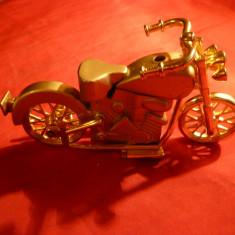 Bricheta Zippo - Bricheta miniatura Motocicleta - cu gaz