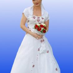 Rochie Mireasa - Rochie scurta de mireasa