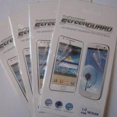Folie / Tipla transparenta pentru protectie ecran Google LG Nexus 5 E980 Screen Guard ***CEL MAI MIC PRET! - Folie de protectie LG, Anti zgariere
