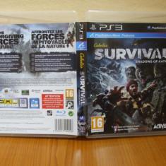 Jocuri PS3 Activision, Actiune, 16+, Multiplayer - Cabela's Survival: Shadows of Katmai (PS3) (ALVio) + sute de alte jocuri ( VAND / SCHIMB )