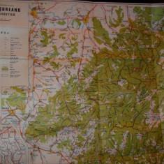 Muntii Sureanu, Harta Turistica, Valter Trufas, Constanta Trufas - Harta Romaniei
