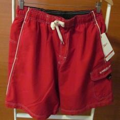 Short SPEEDO rosu - Pantaloni barbati Converse, Marime: S, S, Scurti, Poliester