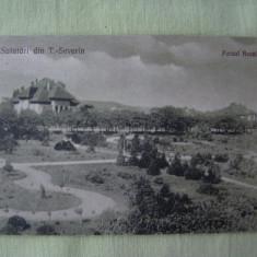TURNU-SEVERIN - Parcul Rozelor - 1923