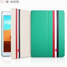 Husa Magic Case Apple iPad Air Green / White by Yoobao Originala - Husa Tableta