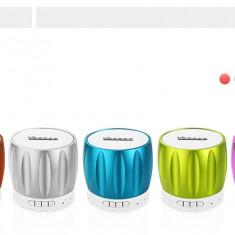 Boxa iPhone Samsung HTC Nokia SONY Bluetooth by Yoobao Originala Green - Boxa portabila Yoobao, Conectivitate bluetooth: 1
