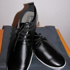 Pantofi Giorgio Armani club - Pantofi barbati Zara, Marime: 40, 41, 42, 43, 44, Culoare: Negru, Piele naturala