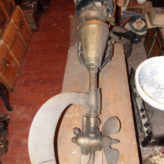 Motor barca - EFFZETT - FZ - motor portabil de barca anul 1914 - produs de DAM acum 100 ani