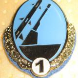 Insigna militara, specialist cls.1 artilerie antiaeriana