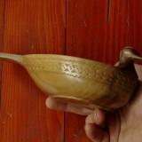 Vas din lemn - sculptat - Rata - piesa deosebita !!!!