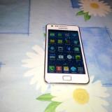 Telefon mobil Samsung Galaxy S2, Alb, 16GB, Neblocat - Vand samsung galaxy s2 alb 16 gb