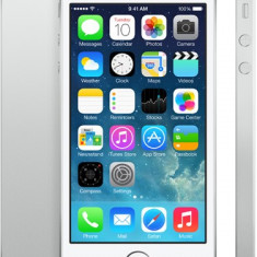 iPhone 5S Apple 16GB white, noi sigilate la cutie neverloked, !PRET:1350lei, Argintiu, Neblocat