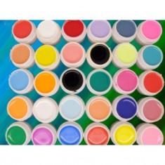 Set 30 geluri colorate unghii uv color profesionale - Gel unghii