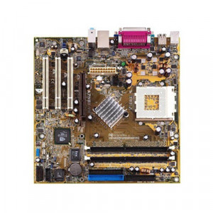 Placa de baza ASUS A7N8X-VM/S - FSB400 (Barton), DDR400, video GeForce4 MX integrat, AGP 8x - socket A / 462 - impecabila - ofer PROBA !!! foto