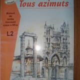 Manual de limba franceza clasa a XII-a - Manual scolar, Clasa 12, Limbi straine