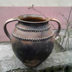 Arta Ceramica - Vas de Lut Vechi ( 100-300 ani )
