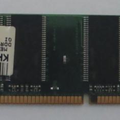 KIT Memorie RAM Alta Desktop marca PMI tip DDR1 512 Mb (2 x 256 Mb) / 400 MHZ / verde - folosita, Dual channel