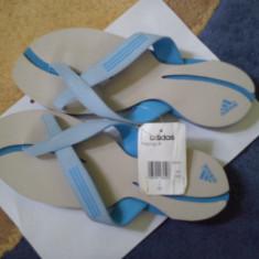 OKAZIE!!! Papuci Dama ADIDAS model Prandunga W ORIGINALI NU REPLICA!!!, Marime: 40.5, Culoare: Bleu, Bleu